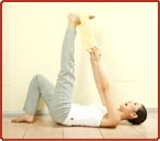 Hamstring Stretch (with towel)